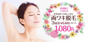 ワキ3回1080円